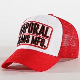 CASQUETTE KAPORAL PRIKA ROUGE